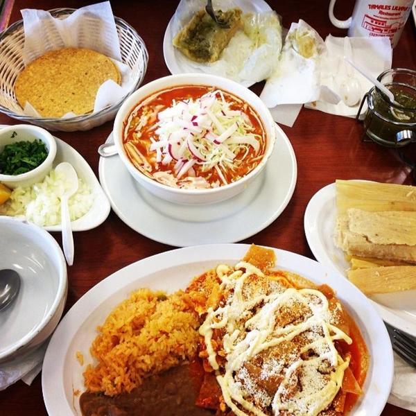Christmas Mexican Food Menu