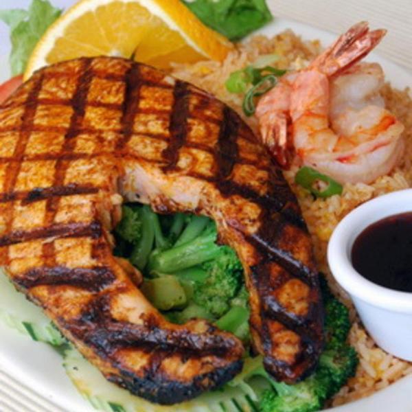 Teriyaki Salmon Dinner Thai Original Bbq View Online Menu And