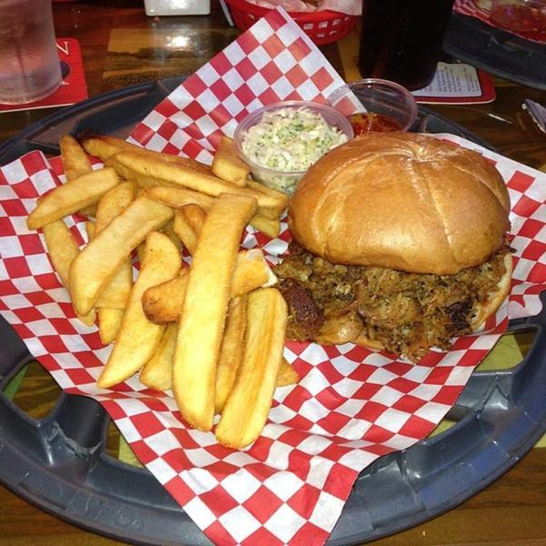 Pulled Pork Sandwich. « Back To Wood Ranch, Agoura Hills, CA - Pulled Pork Sandwich - Wood Ranch, View Online Menu And Dish