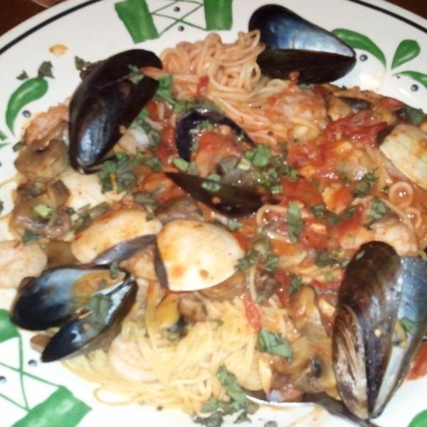 capellini di mare - Olive Garden Roseville