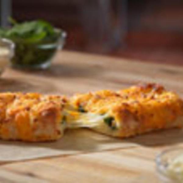 stuffed-cheesy-bread-with-spinach-&-feta