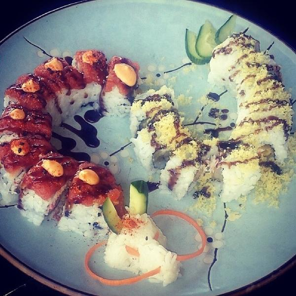 Dragon Roll Sun Asian Kitchen View Online Menu And Dish Photos At