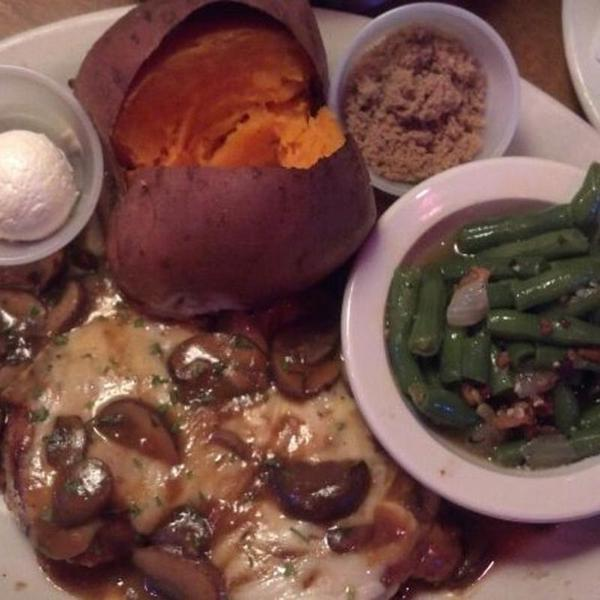 Portobello Mushroom Chicken Texas Roadhouse View Online Menu And Dish Photos At Zmenu