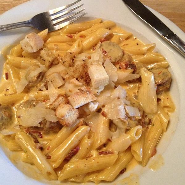 Three Cheese Mac And Cheese - Babbo Italian Eatery, View ...