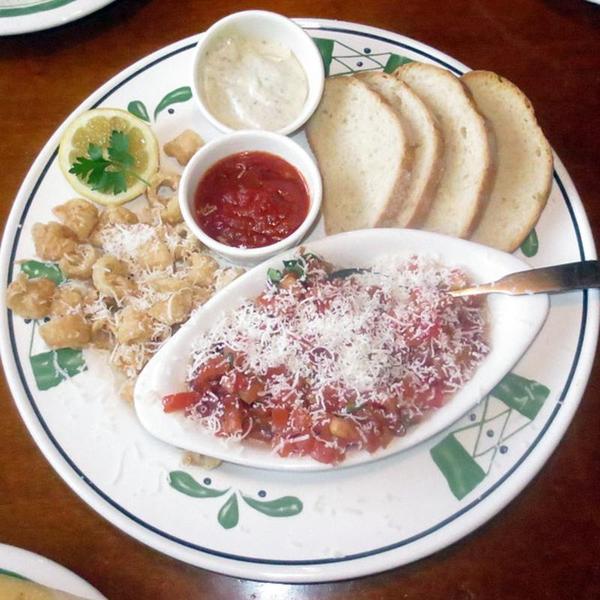 Calamari Olive Garden Italian Restaurant View Online Menu And