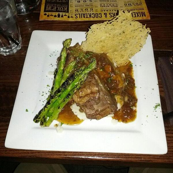 Slow Braised Beef Short Ribs The Public House View Online Menu