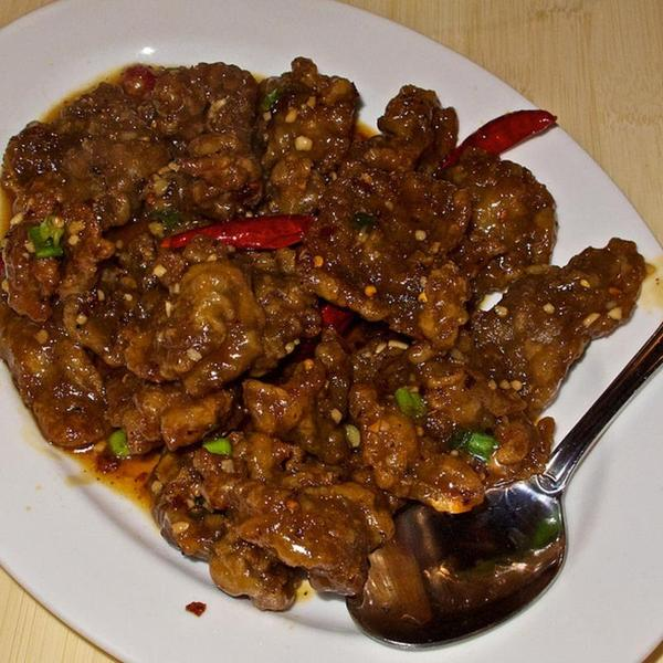 Manchurian beef