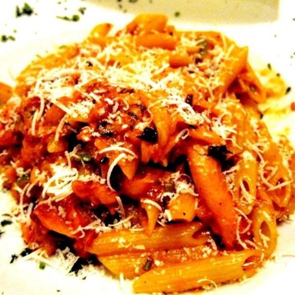 Penne Al Salmone - La Vecchia Cucina, View Online Menu and Dish ...