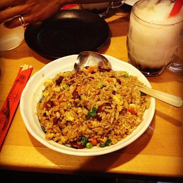 fried rice rose tea cafe view online menu and dish photos at zmenu