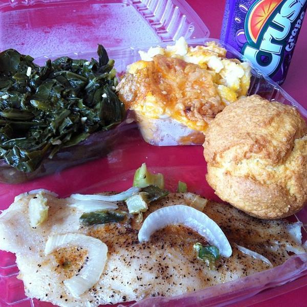 Collard Greens Lenas Soul Food Cafe View Online Menu And Dish