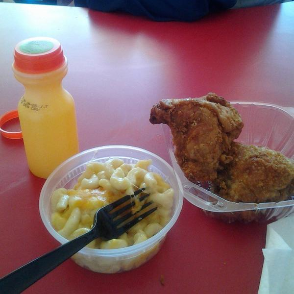 Fried Chicken Leg Or Thigh Lenas Soul Food Cafe View Online Menu