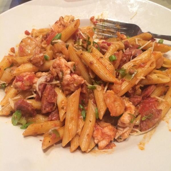 Jambalaya Pasta - Razzoo's Cajun Cafe, View Online Menu