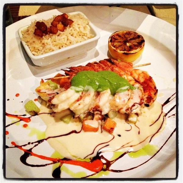 Tequila Flamed Prawns - Luna Modern Mexican Kitchen, View Online ...