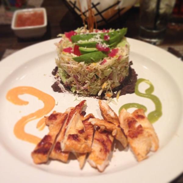 Papaya Chicken Salad - Luna Modern Mexican Kitchen, View Online ...