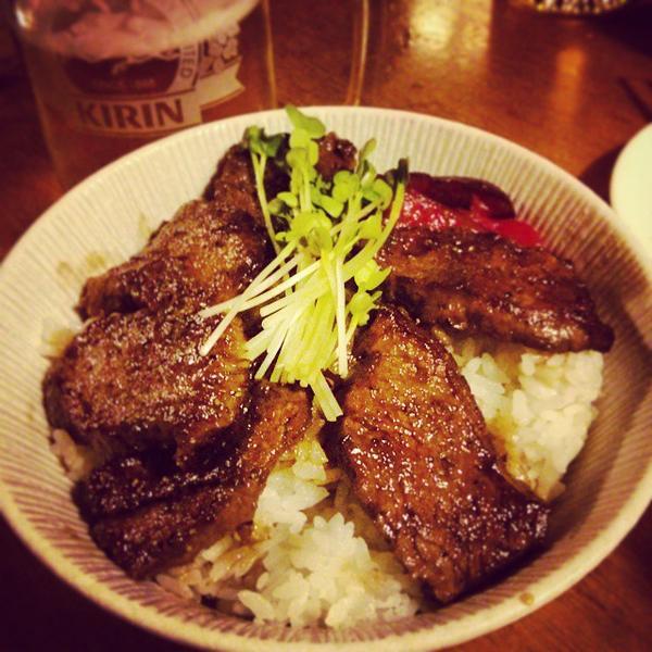 Wagyu Steak Don - Kappo Honda, View Online u and Dish Photos at Zu