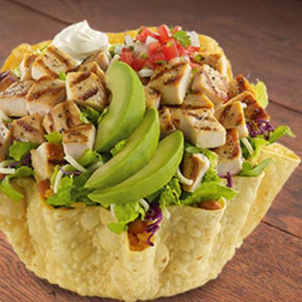 ... GRILLED ULTIMATE DOUBLE CHICKEN TOSTADA SALAD - El Pollo Loco - Zmenu