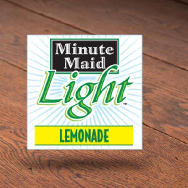 Beautiful Minute Maid Light Lemonade. «