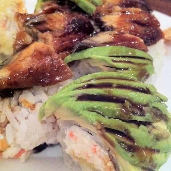 dragon fat fish sushi view online menu and dish photos