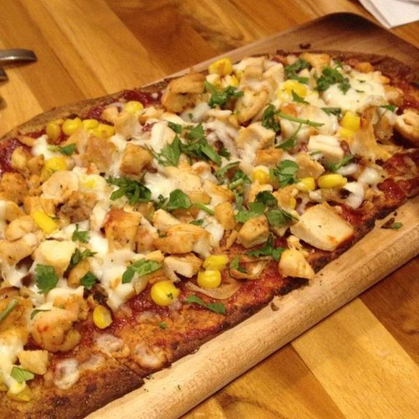 Bbq Chicken Flatbread - LYFE Kitchen, View Online Menu and Dish ...