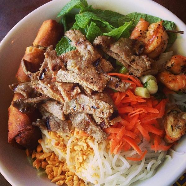Bbq Beef & Shrimp - Pho the Bowl, View Online Menu and Dish Photos