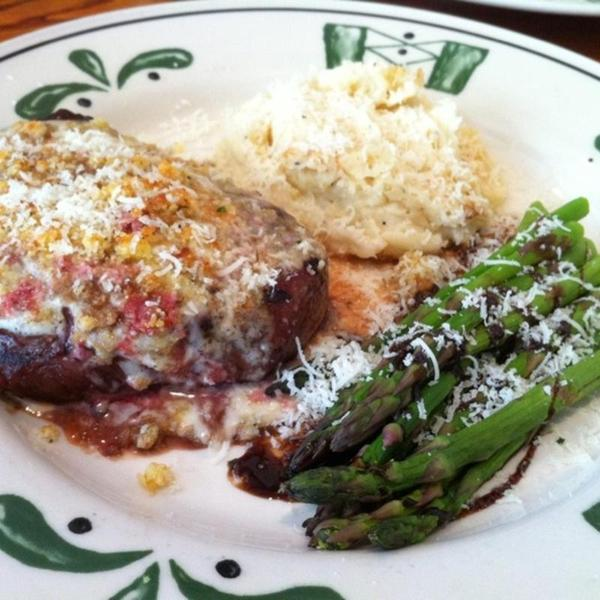 Parmesan Crusted Bistecca Back To Olive Garden Italian Restaurant Pittsburg Ca