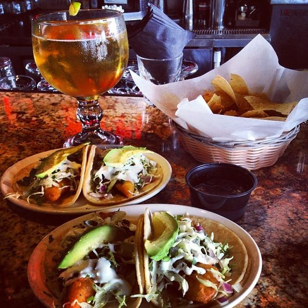 Baja Fish Taco Back To Tequila Jack S Long Beach