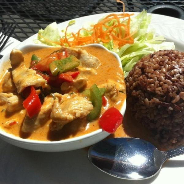 Panang Curry Thai Orchid Thai Cuisine View Online Menu And Dish