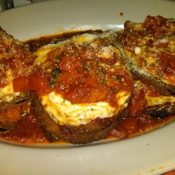 Eggplant Parmigiana Olive Garden Italian Restaurant View Online Menu And Dish Photos At Zmenu
