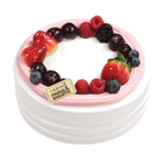 Cherry Berry Yogurt Cake