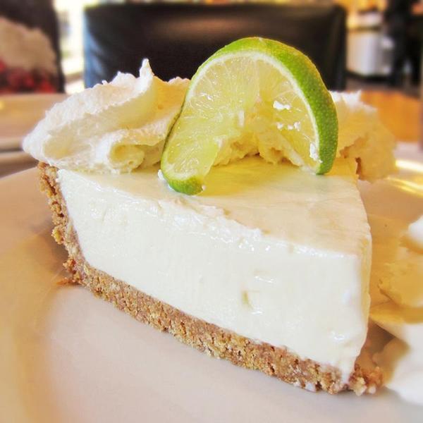 Key Lime Pie California Pizza Kitchen At Laguna Hills View Online Menu And Dish Photos At Zmenu