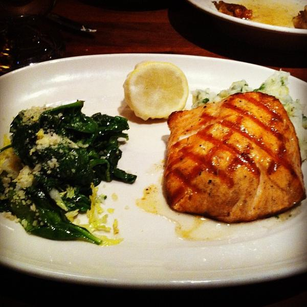 Oak Grilled Salmon Rutherford Grill View Online Menu And Dish