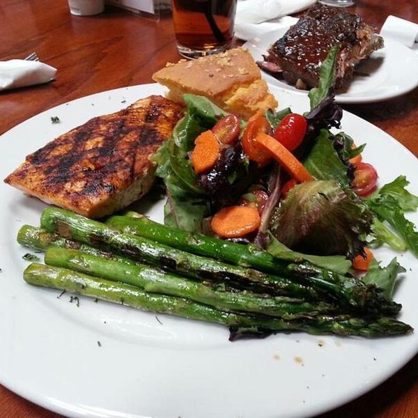 Fresh Atlantic Salmon. « Back To Wood Ranch, Agoura Hills, CA - Fresh Atlantic Salmon - Wood Ranch, View Online Menu And Dish