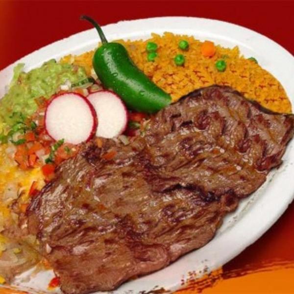 Carne Asada Plate - Tres Mexican Food Taco Shop - CLOSED ...