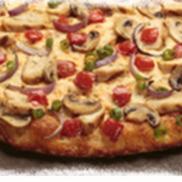 Chicken Garlic Gourmet Round Table Pizza View Online Menu And