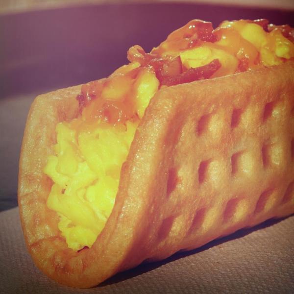 waffle-taco---bacon