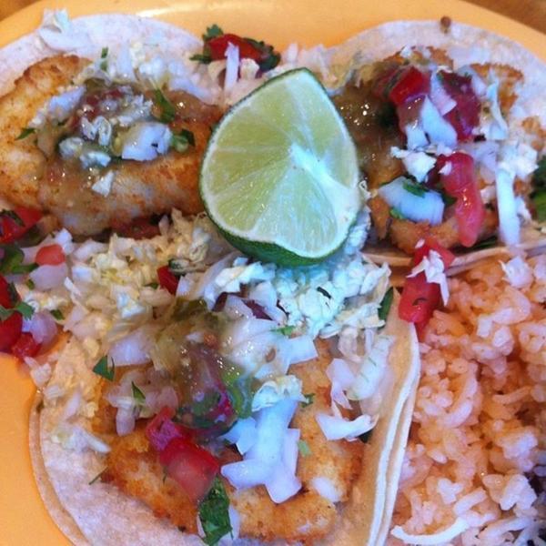 Baja fish tacos bonefish grill view online menu and for Baja fish tacos menu