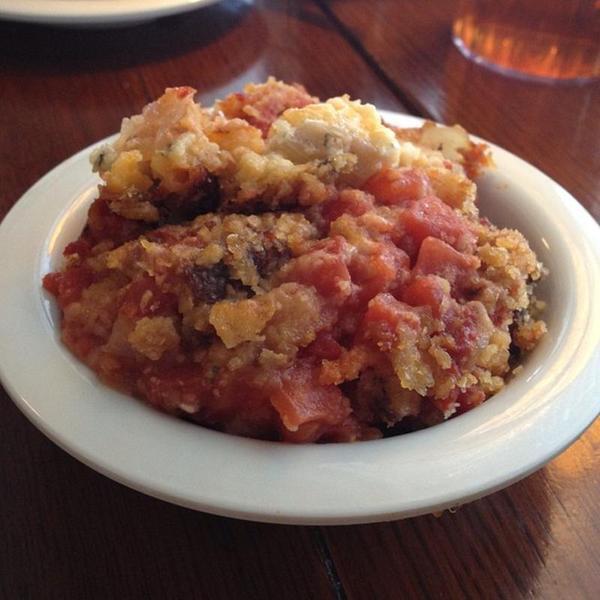 Tomato Pie - Mary Mac\'s Tea Room, View Online Menu and Dish Photos ...