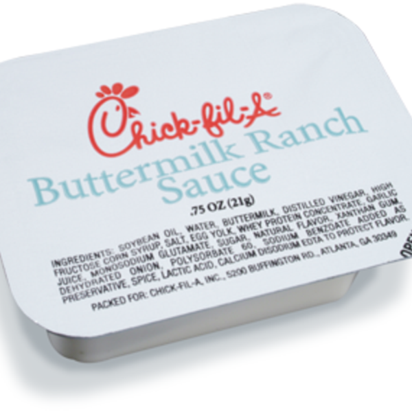 buttermilk ranch sauce chick fil a view online menu and dish