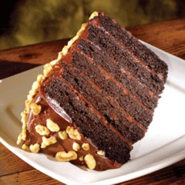 Rich Chocolate Fudge Cake