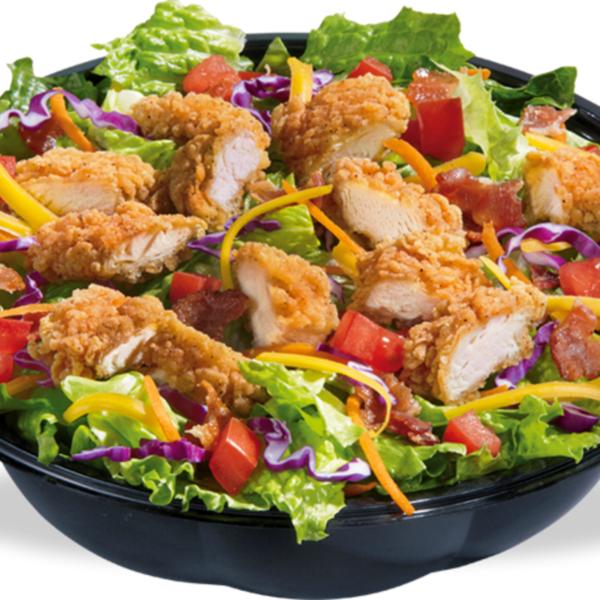 Crispy Chicken Salad Fast Food