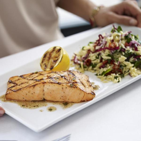 Grilled Salmon Romano S Macaroni Grill View Online Menu And Dish