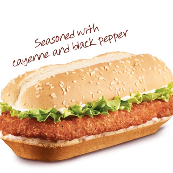 Spicy Original Chicken Sandwich Back To Burger King