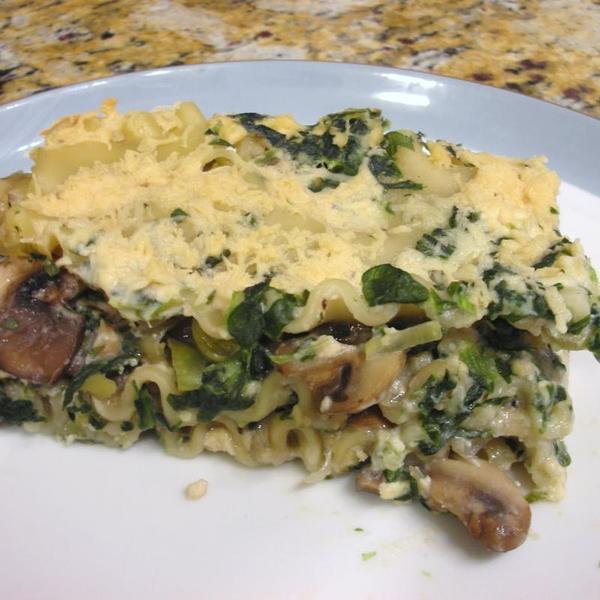 mushroom-lasagna