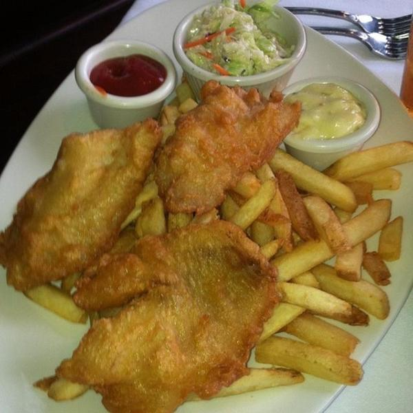 Fish and chip dad 39 s on j view online menu and dish for J j fish menu