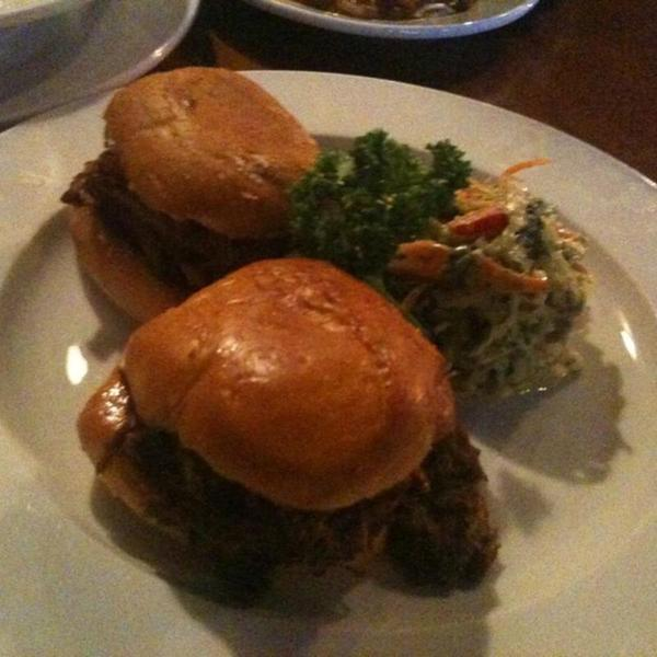 Pulled Pork Sliders. « Back To Wood Ranch, Agoura Hills ... - Pulled Pork Sliders - Wood Ranch, View Online Menu And Dish Photos