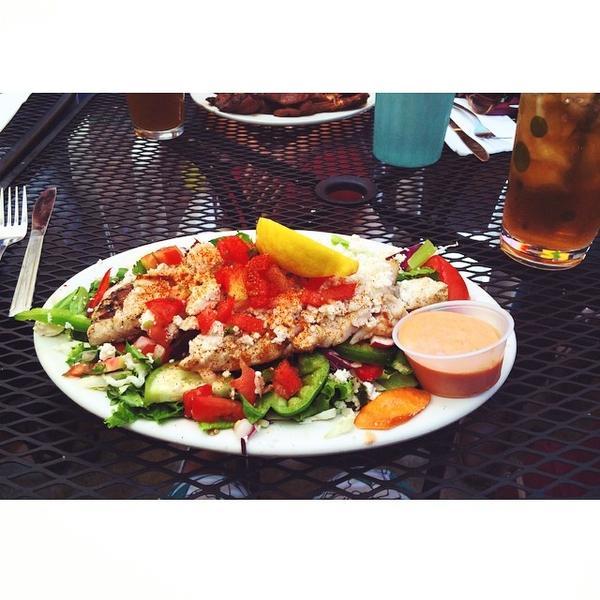Grilled Snapper Salad. «
