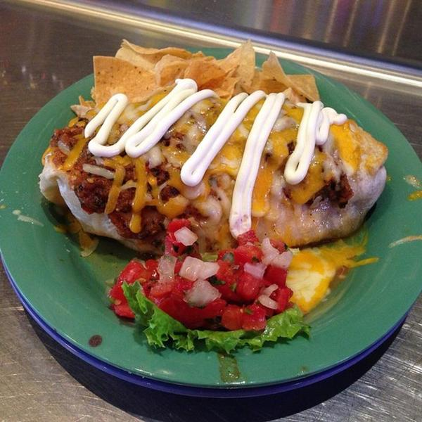 Wet Burrito Bobs Twin Kitchen View Online Menu And Dish