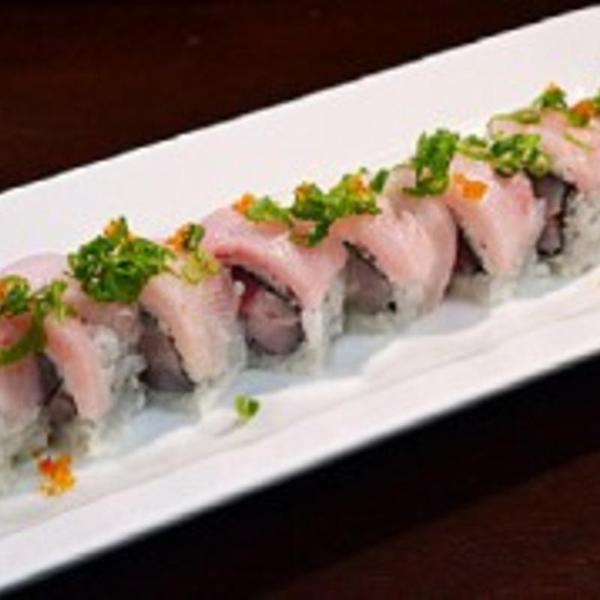 Double Hamachi Roll Ocean Fish Sushi Grill View Online Menu And