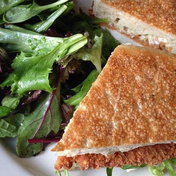 Fried Chicken Sandwich Kitchen24 View Online Menu And Dish Photos At Zmenu