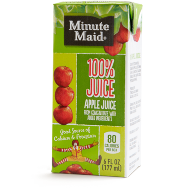 Minute Maid® Apple Juice Box